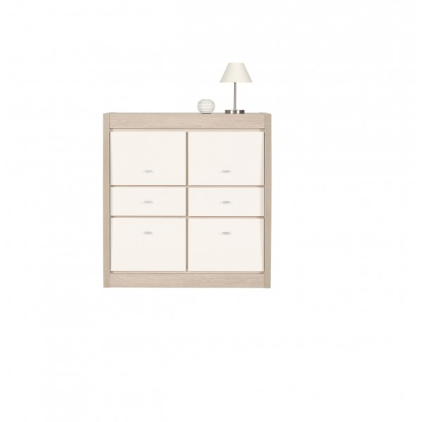 Axel 4 Doors Cabinet with 2 Drawers