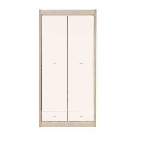 Axel 2 Doors Wardrobe with 2 Drawers