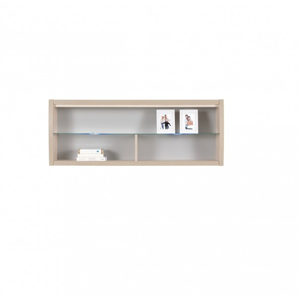 Axel Wall Mounted Cabinet With Glass Shelf