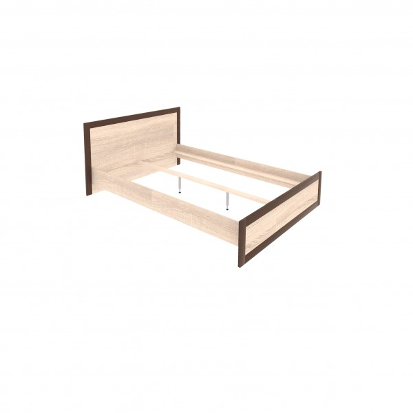 Boss European Double 140/200cm Bed Frame with Drawer