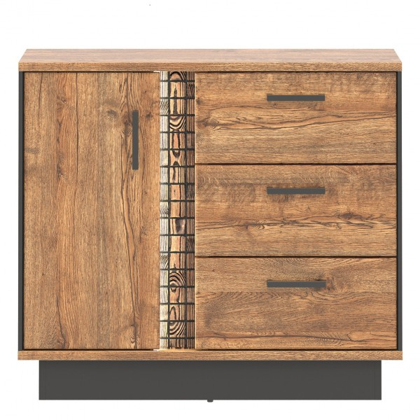 Dorian Cupboard with 3 Drawers