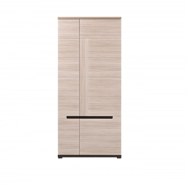 Denis 2 Doors Wardrobe with Hanging Rail and Shelves