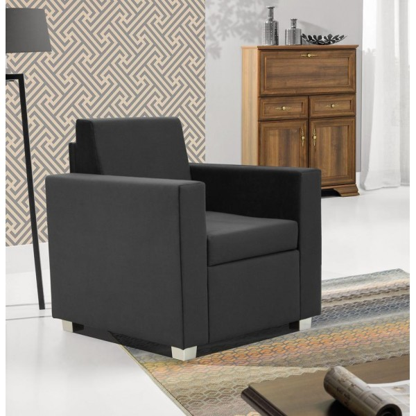 Epic Armchair in Grey Fabric