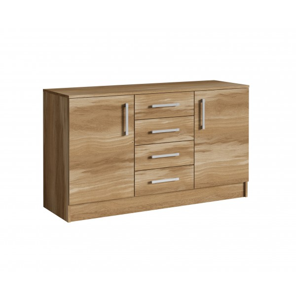 Epic Sideboard with 4 Drawers in Murano Nut