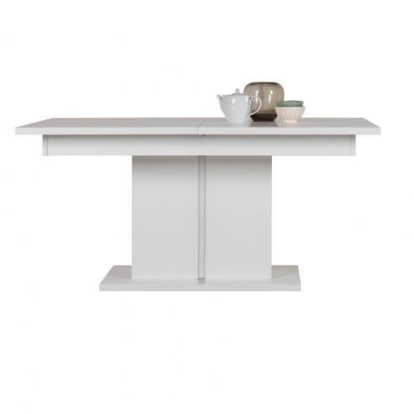 Irma White Extendable Dining Table