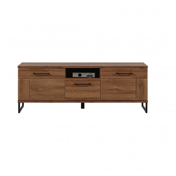Ivo 2 Doors TV Cabinet with Drawer