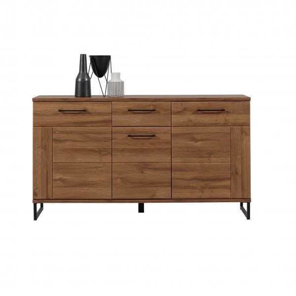 Ivo 3 Doors Sideboard with Drawer