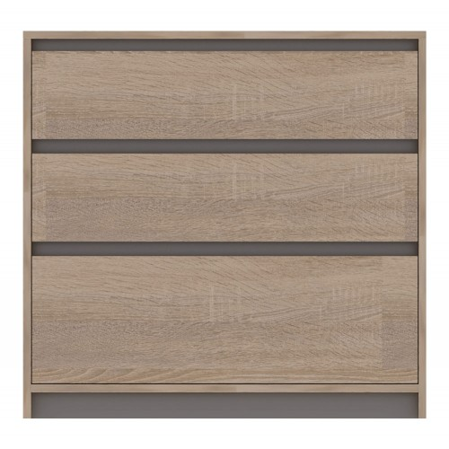 Madagascar Chest of 3 Drawers
