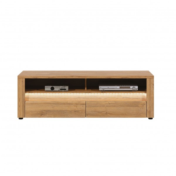 Sandy TV Unit With 2 Drawers And LED Lights