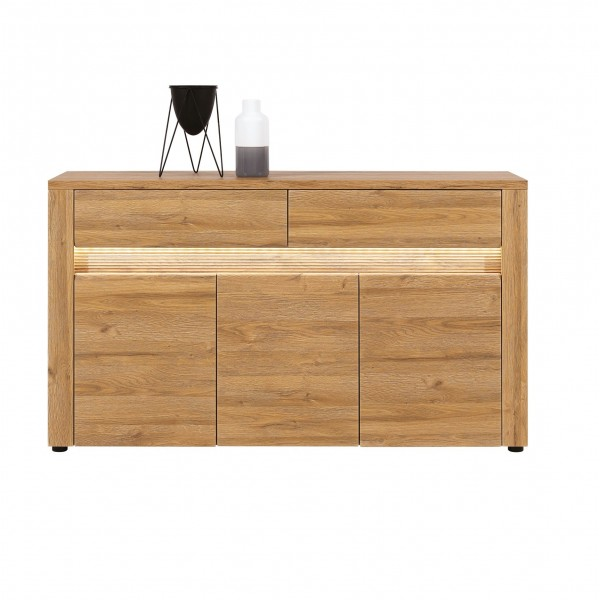 Sandy 3 Door 2 Drawers Sideboard with LED's