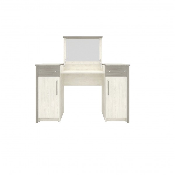 Sara 2 Door Dressing Table with 2 Drawers and a Mirror