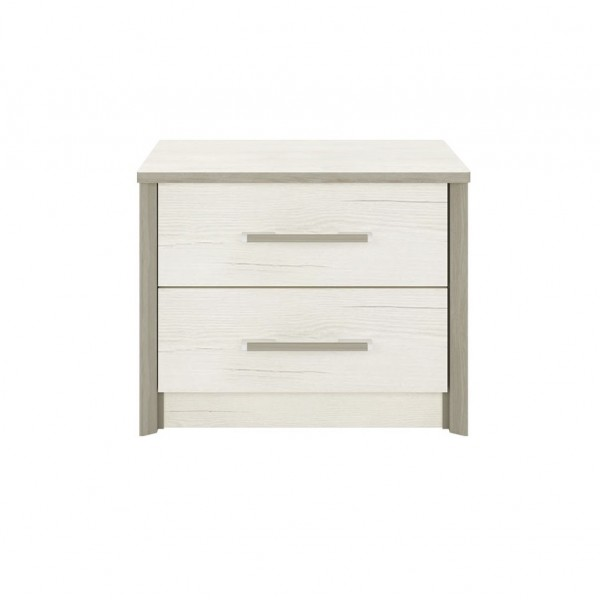 Sara Bedside Table with 2 Drawers