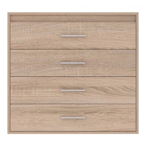 Texas Chest of 4 Drawers in Sonoma Oak