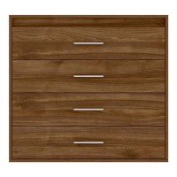 Texas Chest of 4 Drawers in Walnut