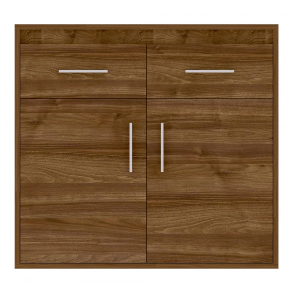 Texas Cupboard with 2 Drawers in Walnut