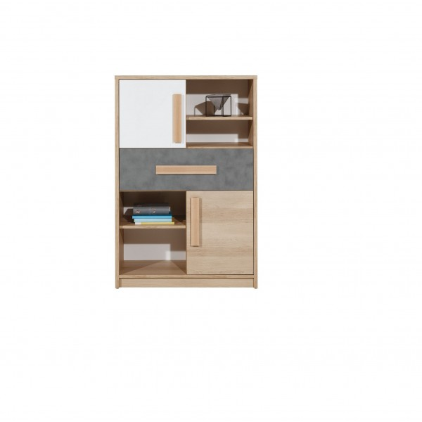 Aygo Medium-Height Cupboard with Drawer