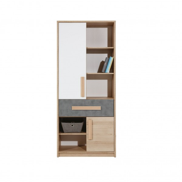 Aygo Tall Cupboard with Drawer