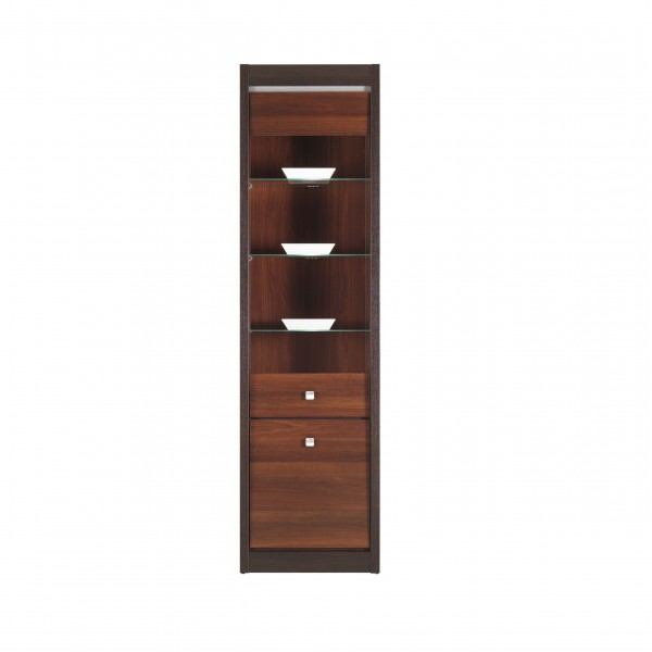Forrest Tall Display Cabinet with LED Lights