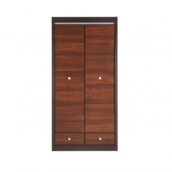 Forrest 2 Door Wardrobe with 2 Drawers and a Hanging Rail