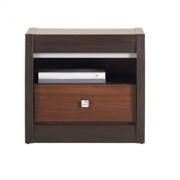 Forrest Bedside Table with a Drawer